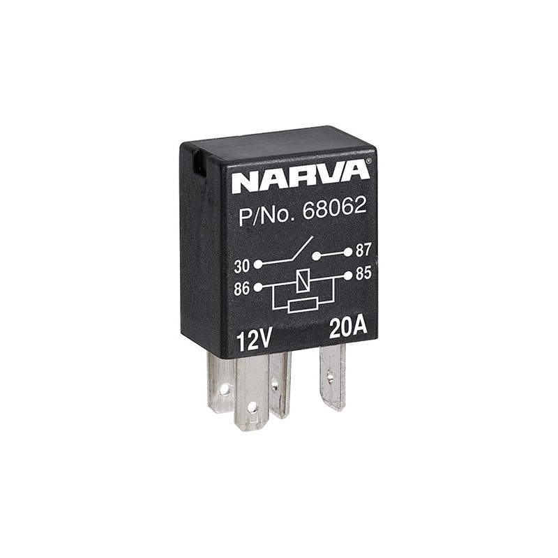 Electrical Micro Relay Normally Open Contacts 12 Volt 4