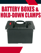 Battery Boxes & Hold-Down Clamps
