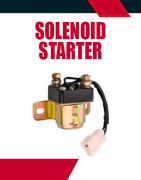Solenoid Starter Motors Auxiliary