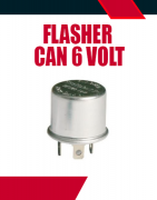 Flasher Can 6 Volt